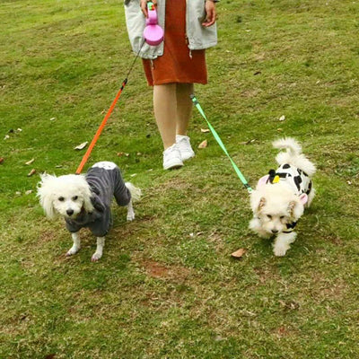 Dual Retractable Dog Leash - GeniusSo
