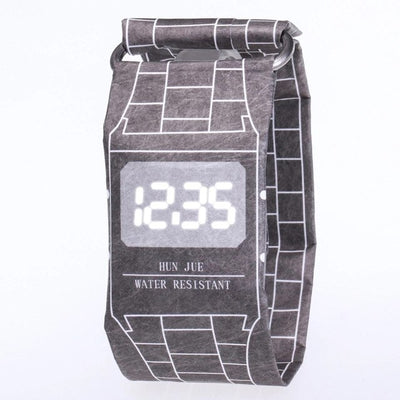 Tike Toker Unisex LED Waterproof Digital Watch - GeniusSo