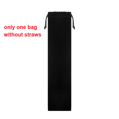 GeniusSo - Reusable drinking straw bag