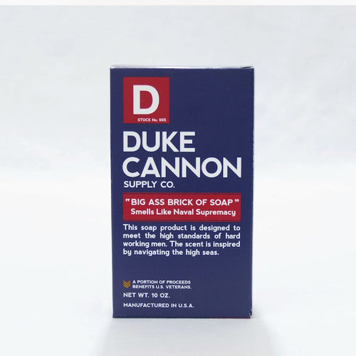 BIG ASS BRICK OF SOAP - NAVAL SUPREMACY - Duke Cannon