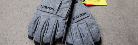 Burton snow gloves grey