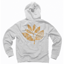 Magenta - Sun Plant Hoody - White SALE-Magic Toast