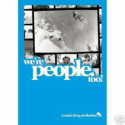 We're People Too - Mack Dawg - Snowboard DVD-Magic Toast