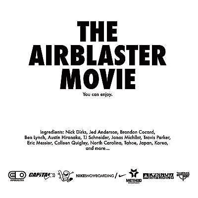The Airblaster Movie - Snowboard DVD-Magic Toast