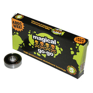 Skateboarding Bearings Magical Go Go Abec 3 Bearings-Magic Toast