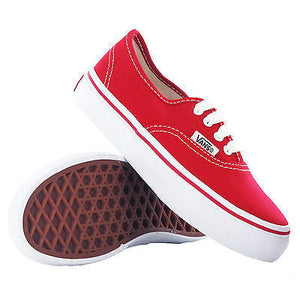 Vans - Authentic Shoes Red UK 11.5 eu 29 Trainers-Magic Toast