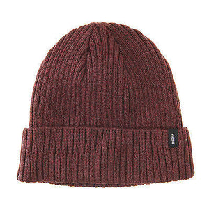 WeSC - Cormac Beanie Unisex - Andorra Red, Black-Magic Toast