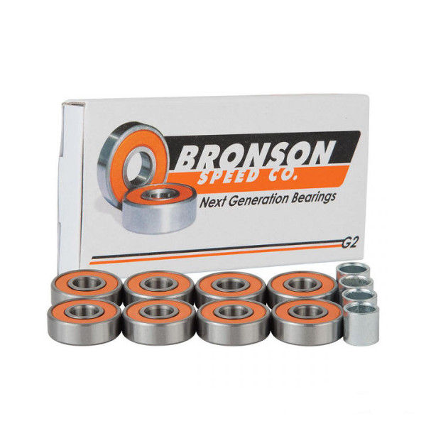 Bronson Speed Co. - G2 Speed Bearings - Set of 8-Magic Toast