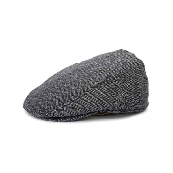 Brixton - Hooligan Snap Hat/Cap - Grey/Black-Magic Toast