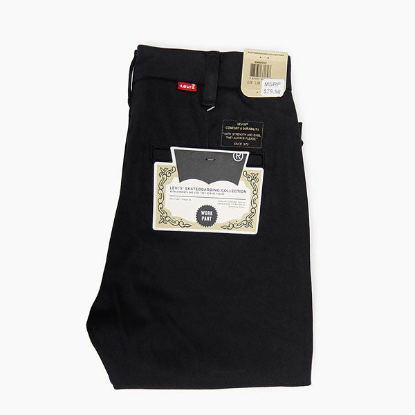Levis Skateboarding - Skate Work Pants S&E - Black Twill Chinos-Magic Toast