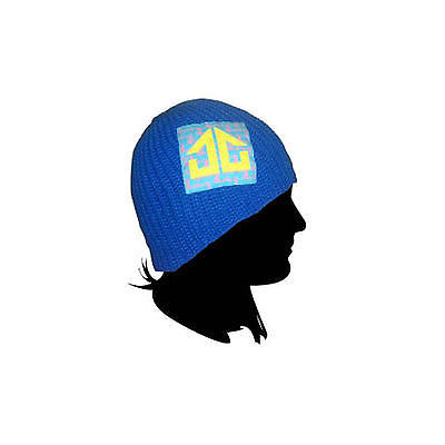 Landing Street/Snowboard Mesh Beanie Hat - Blue **SALE**-Magic Toast