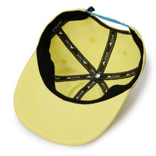 Crupié Apex Side Logo 6 Panel Snapback Cotton Hat Skateboard/Wheels-Magic Toast