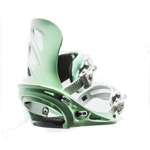 Flux - Winter 2016/17 GU Women's Snowboard Bindings - Green SALE-Magic Toast