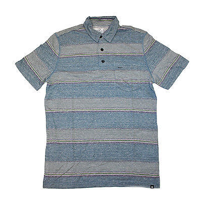 Hurley Fairway 2.0 Polo T-Shirt Purple Chalk Blue SMALL SALE-Magic Toast