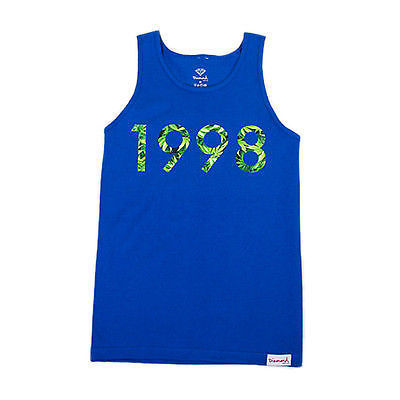 Diamond Supply Co. - 1998 Hemp Tank Top - Royal Blue SALE-Magic Toast