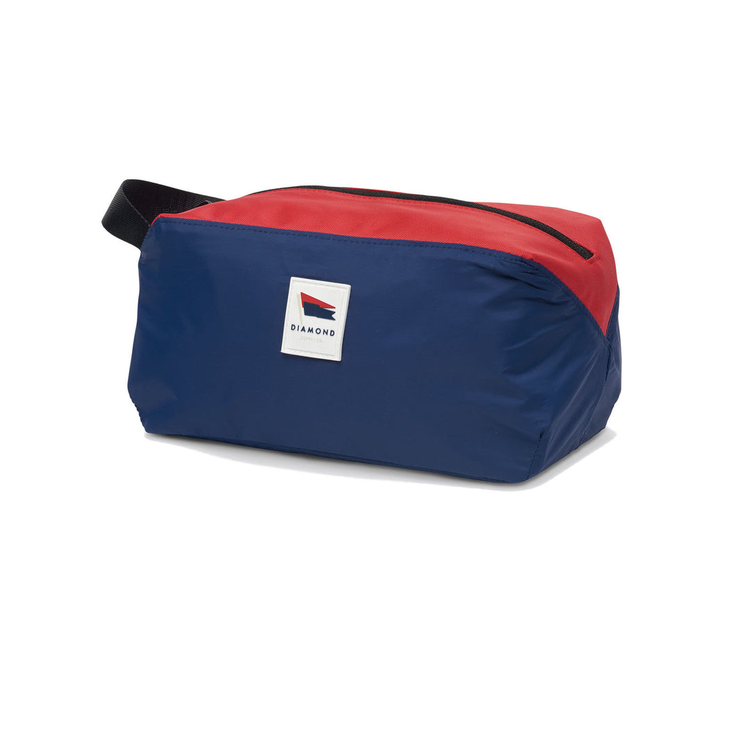 Diamond Supply Co. - Pavillion Dopp Kit Travel Bag - Navy Travel Kit Washbag-Magic Toast