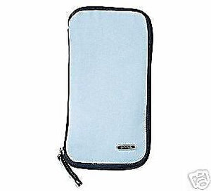 Gravis - Terminal Case Cotton Travel Wallet - Sky Blue-Magic Toast