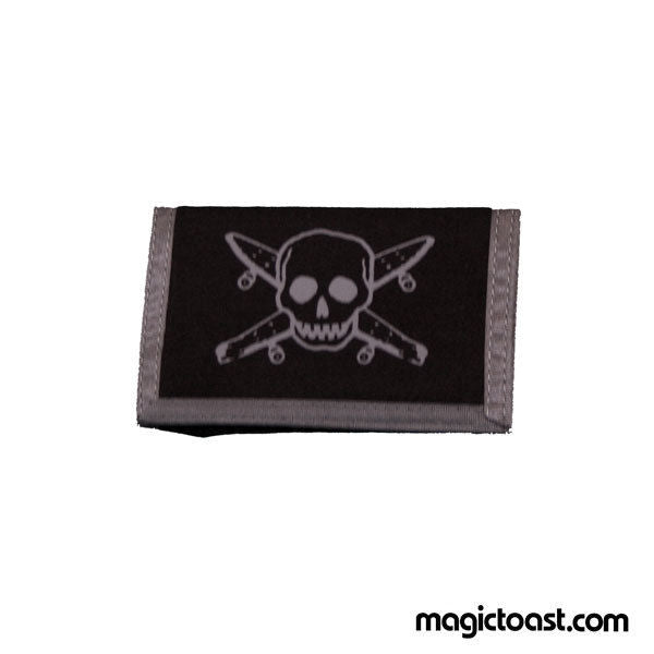 Fourstar - Pirate Skateboard Wallet - Black Grey-Magic Toast