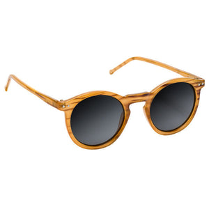 Glassy Sunhaters - TimTim Polarized Sunglasses - Honey Wood-Magic Toast
