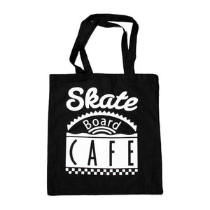 Skateboard Cafe - Diner Logo Tote Bag - Black-Magic Toast