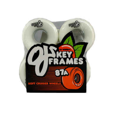 OJ Wheels Plain Jane Key Frames Filmer/Cruiser Wheels 52mm 87a-Magic Toast