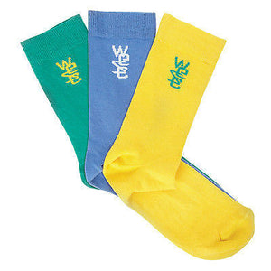 WeSC - Frippe 2 Socks x 3 Pairs - Assorted SALE-Magic Toast