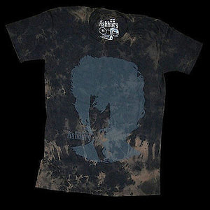 Ashbury T-Shirt Visions of Johanna Black Wash - Medium SALE-Magic Toast