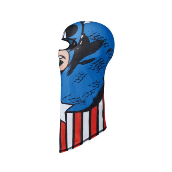 Buff - Superheroes Captain America Blue Jr Buff Face Mask Neck Tube-Magic Toast