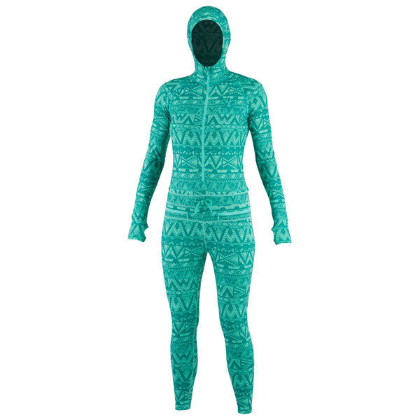 Airblaster - Womens Thermal Ninja Suit - Wild Tribe Snowboard/Ski/Base Layer SALE-Magic Toast