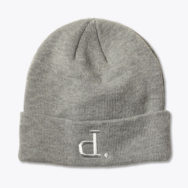 e81d9de89b0 Diamond Supply Co. - Un Polo Beanie Hat - Heather Grey