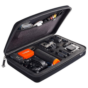 GoPro - POV Sp Gadgets Storage Case Bag Black Large for GoPro-Magic Toast