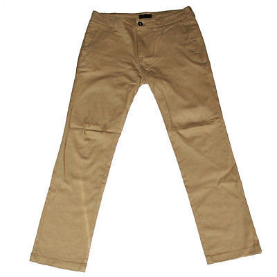 Gnarly Clothing Slim Fit Chino Pant Khaki SALE-Magic Toast