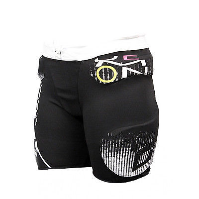 Demon Winter 2013/14 WOMENS Flex Force Snowboard Impact Short Pro Black Large-Magic Toast