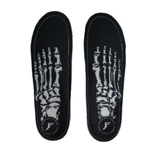 Footprint - King Foam Orthotic Insoles Skeleton - Black Skateboard/Impact-Magic Toast