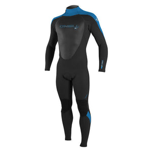 O'Neill - Epic 5/4 mm Full Wetsuit - Black/Bright Blue-Magic Toast