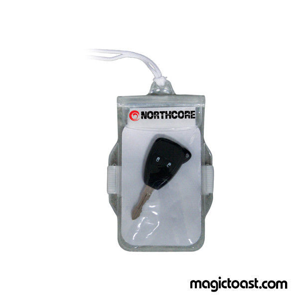 Northcore - Water Proof Key & Phone Pouch Surf/Swimming/Sea - Magic Toast
