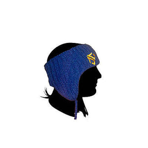Landing - Puruvian Beanie Headband - Blue SALE-Magic Toast