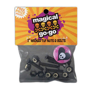 "Skateboarding Bolts Magical Go Go 1"" Mounting Hardware-Magic Toast"