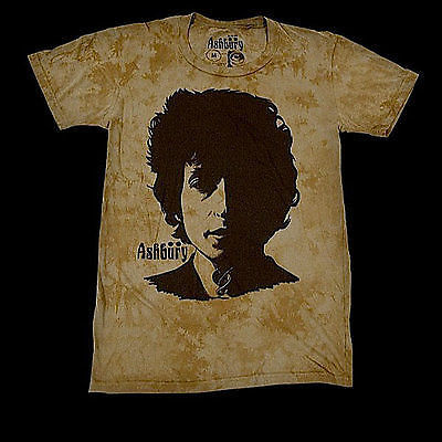 Ashbury T-Shirt Visions of Johanna Green Wash - Medium SALE-Magic Toast