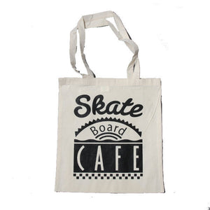 Skateboard Cafe - Diner Logo Tote Bag - Natural-Magic Toast