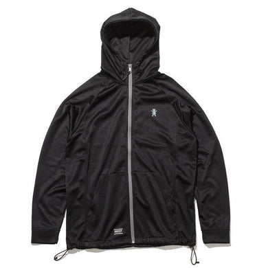 Grizzly - Turf Burn Zip Hoodie - Black SALE-Magic Toast