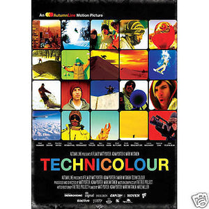 Technicolour - Snowboard DVD - All Region-Magic Toast