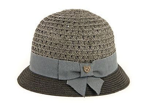 Brixton - Zoey Hat Womens - Charcoal / Black-Magic Toast