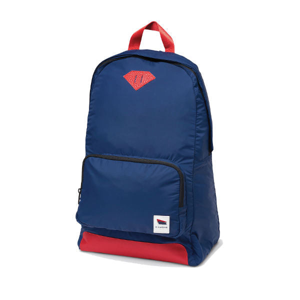 Diamond Supply Co. - Pavillion Backpack - Navy/Red Daypack Luggage-Magic Toast