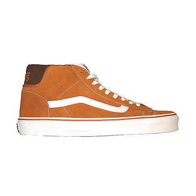 Vans - Mid Skool 77 Men's Trainer Sudan Brown/Marshmallow Shoes SALE-Magic Toast