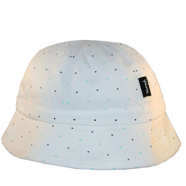 c104fa8565f Diamond Supply Co. - Micro Diamond Bucket Hat - White SALE