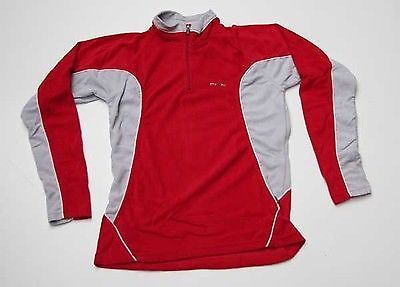 Ladies Five Seasons 'Qira' Fleece - Snowboarding Thermals Red UK Size 14-Magic Toast