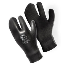 O'Neill - 5mm O'Riginals Lobster Gloves - Black Neoprene/Surf/Water-Magic Toast