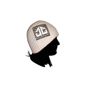 Landing - Mesh Beanie Hat - White SALE-Magic Toast