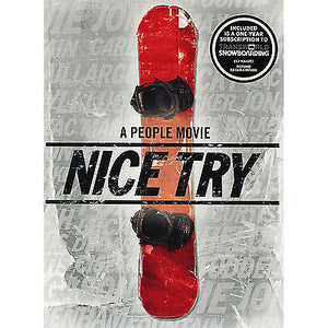 Nice Try - Snowboarding DVD-Magic Toast
